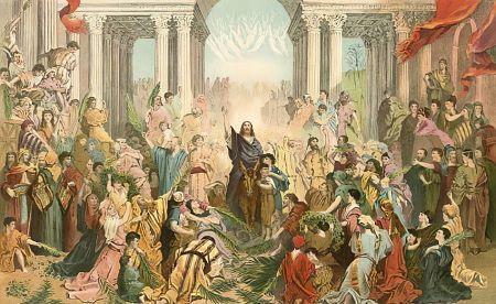 200821-Gustave Dore - Jesus entering Jerusalem.jpg