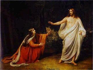 復活したイエスの顕現Alexander Ivanov..jpg